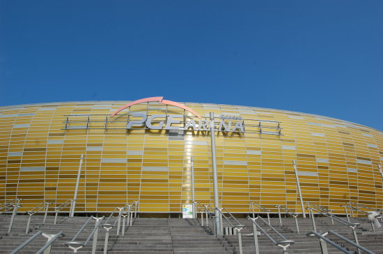 stadium football Poland Gdansk EURO 2012