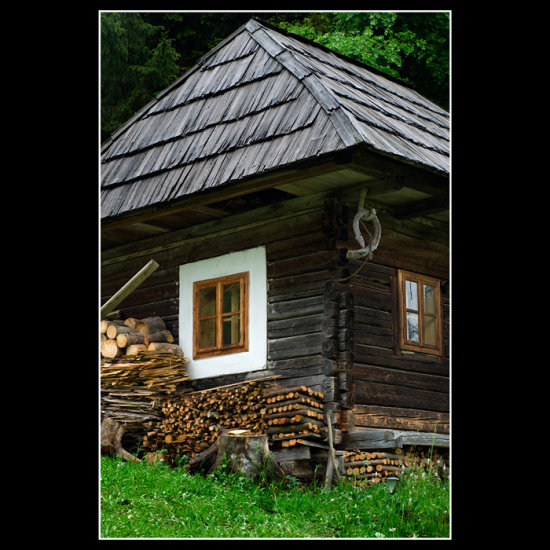 Little house in Ghymes, Transylvania