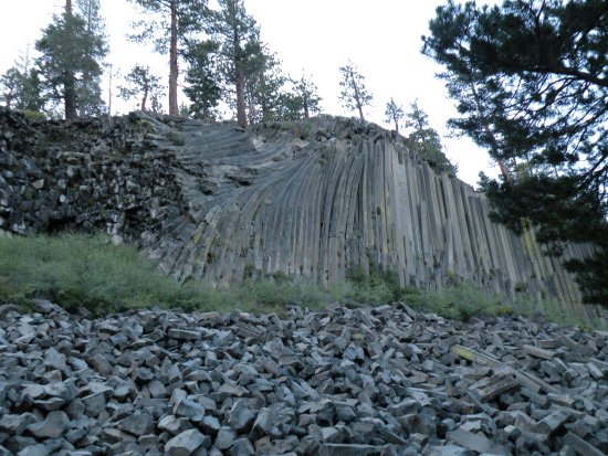 Mammoth Mountain Devil postpile