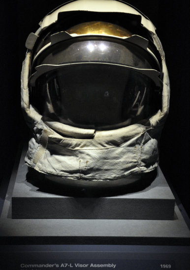 kennedy space center florida nasa astronaut helmet visor