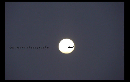 Moon Plane kumars photography