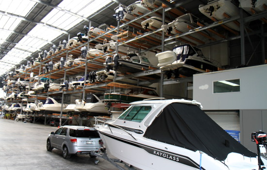 orams marine boat storage