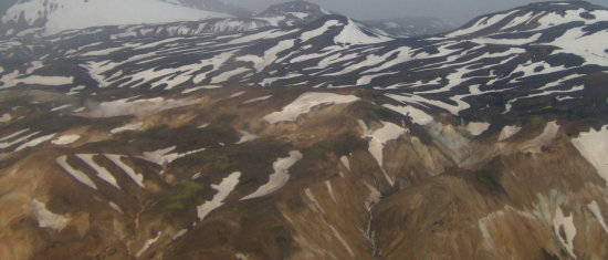 iceland sightseeing flight landscape