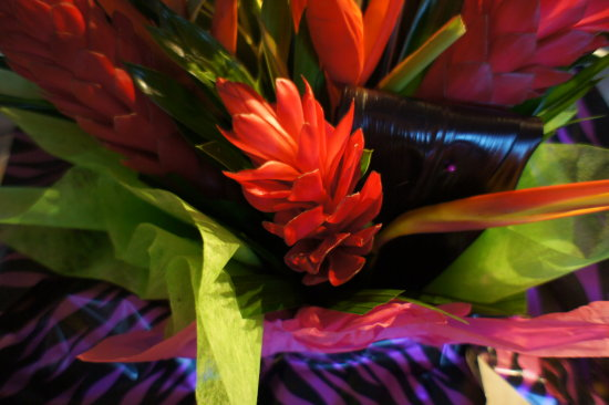 exotic flowers bouquet