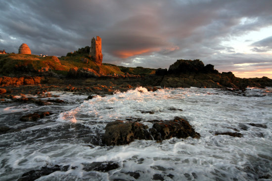 dunure castle ayrshire