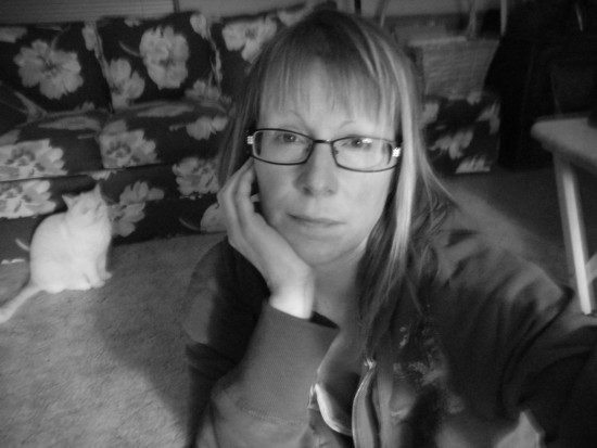 me and my rat cat black and white
