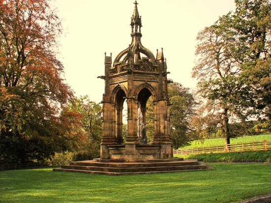 monumentfriday cavendish memorial fountain Bolton Abbey