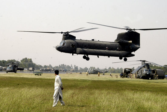 US army help operatin in Pakistan