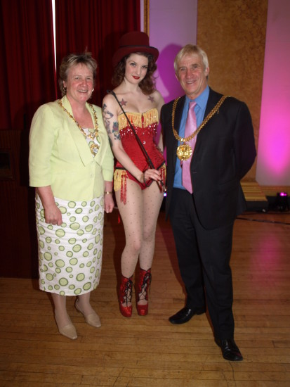 millie dollar lord mayor lay mayoress liverpool town hall
