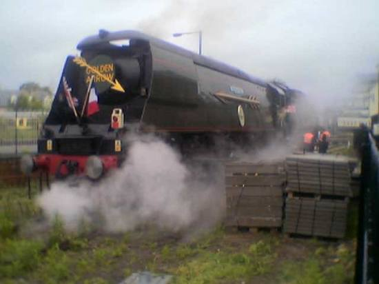 tangmere bulleid steam locomotive loco train railway