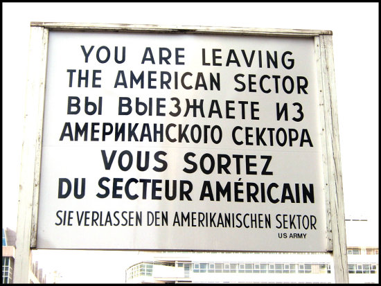 A remnant from the cold war!