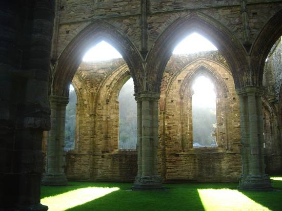 England Sam Tintern Abbey Church Building Wales