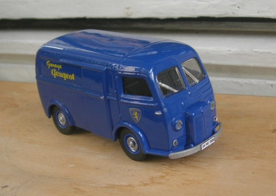 solido Peugeot van diecast 143scale car model