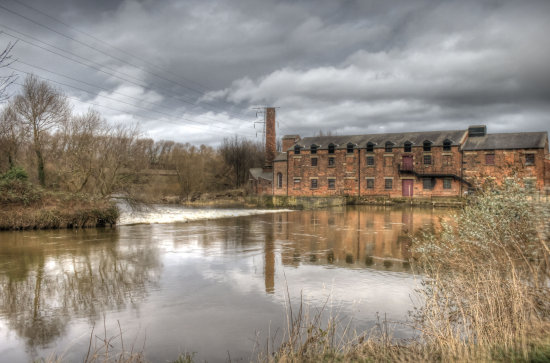 reflectionthursday water thwaite mill yorkshire hdr