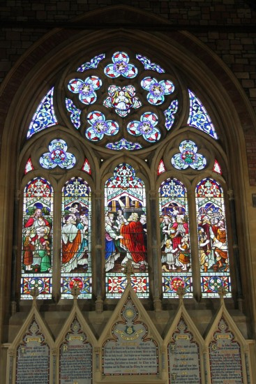 england devon ilfracombe architecture churches windows stainedglass objects