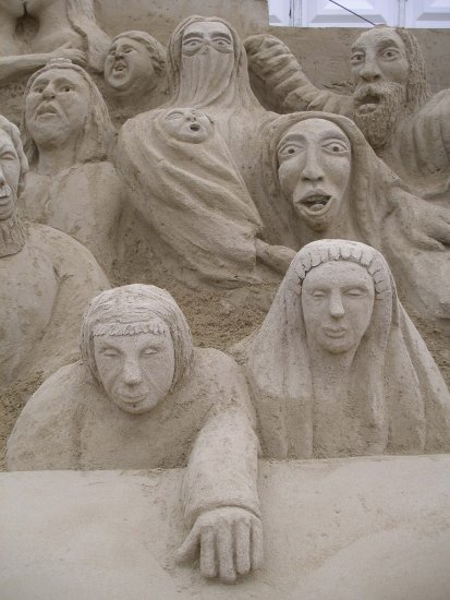 The audience.......