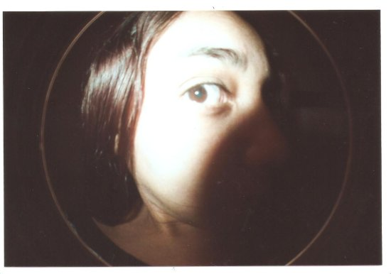 fish eye 2 lomography weird person