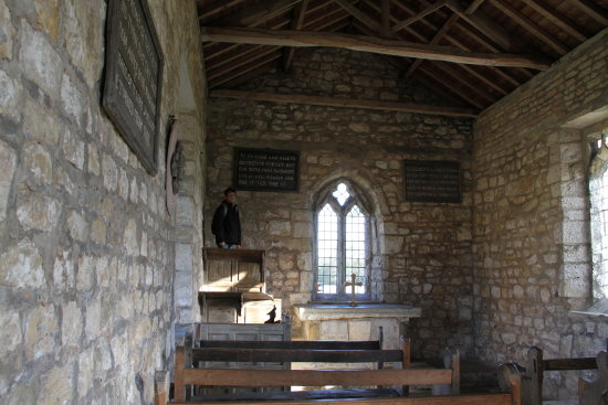 inside the lead church