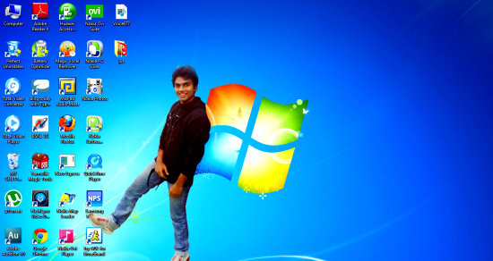 my windows 7 photoshop