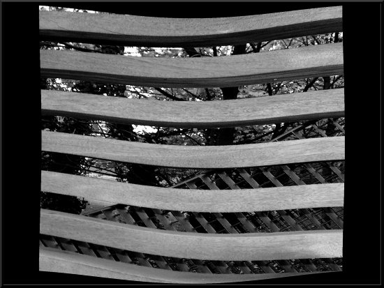 wood distorc black and white
