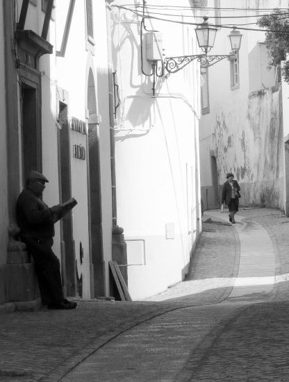 Back Street in Portugal