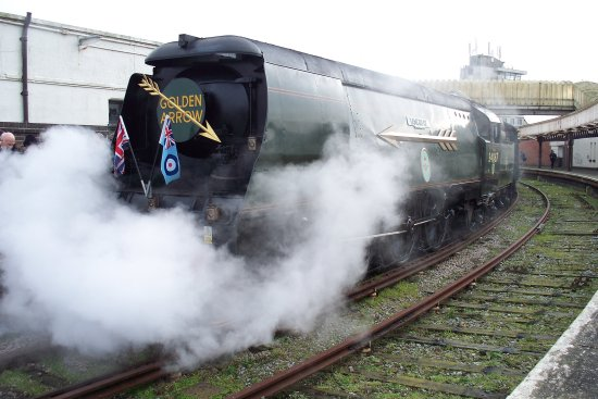 folkestone steam bulleid train