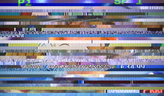TV channels media television monitor screen random