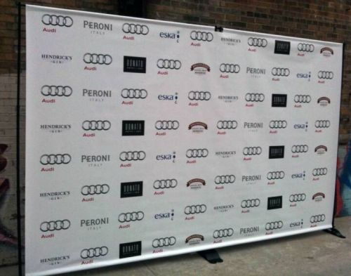 24 hour banner printing step and repeat banner pop up banner retractable bann