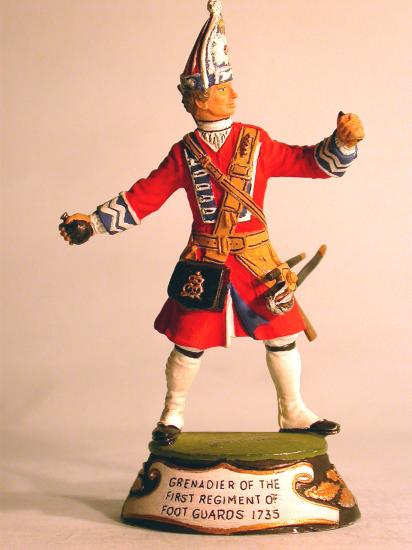 90mm Figure * Grenadier of the 1st Regiment of Foot Guards * 1735