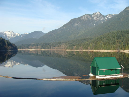 reflectionthursday capilano water shed North vancouver bc Canada