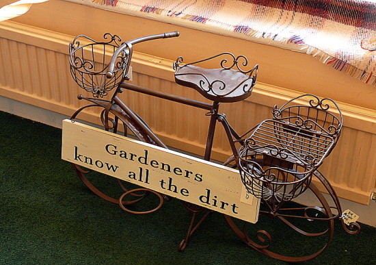Gardening Shop Bicycle