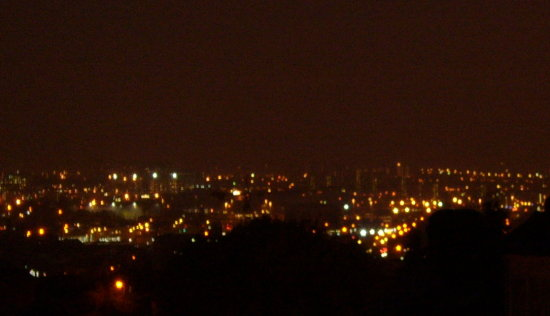 Leeds, the night after Barack Obama was elected President of the USA. Yeah, this photo has nothin...