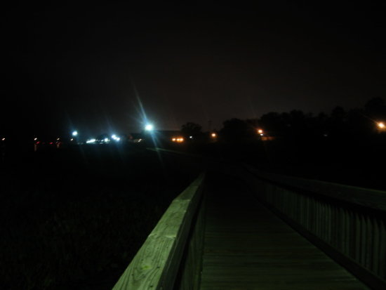 Washington N C - boardwalk before