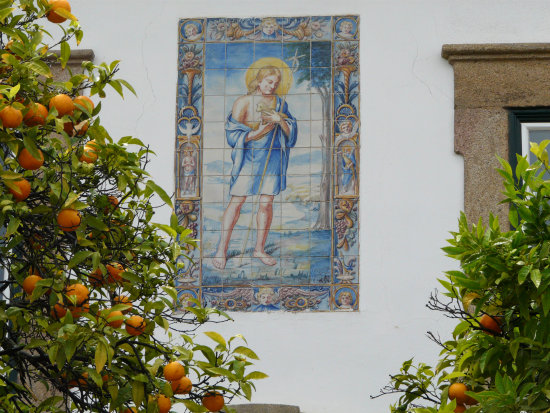 Mural and Oranges Portugal