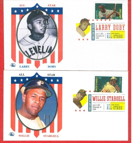 Baseball stamps All Stars