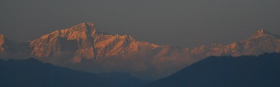 sunrise from Jakholi Uttarakhand India