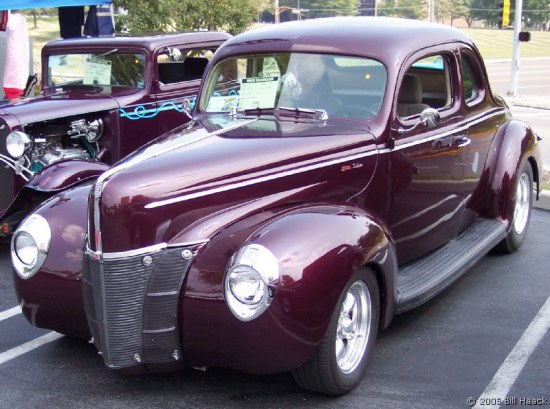 Finally Classic Car Show Finally Begins Ford Coupe