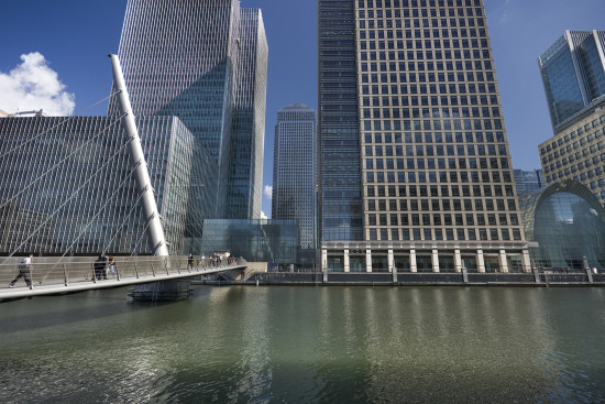 canary wharf london docklands
