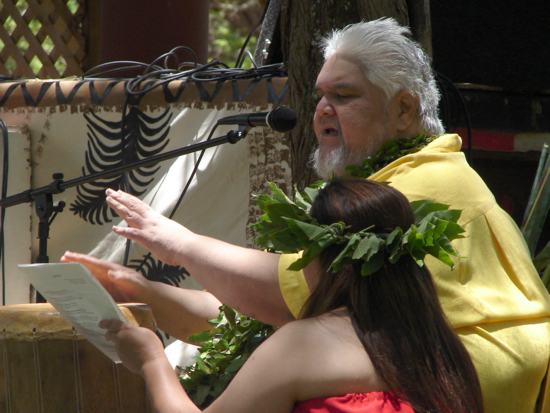 Kumu Hula John Kaimikaua passed away recently. He is shown here as I photographed him last month ...