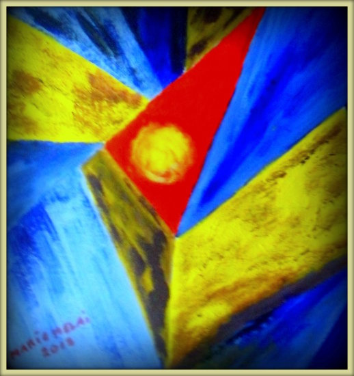 art paint colours abstract