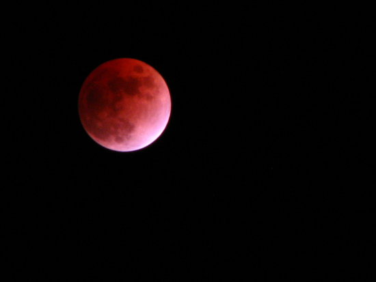 Full Eclipse of the Moon Feb 20 2008