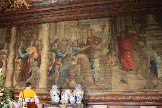 england chatsworth objects paintings tapestries