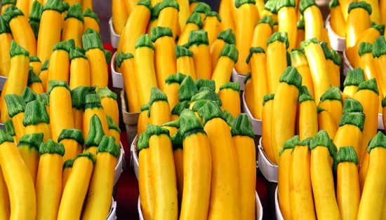 yellow vegetables zucchini