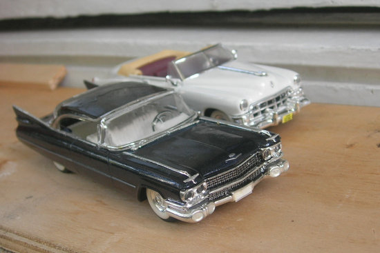 cadillac 1950 1959 diecast vitesse 143 scale model car