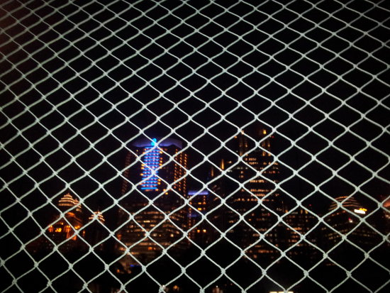 net and night