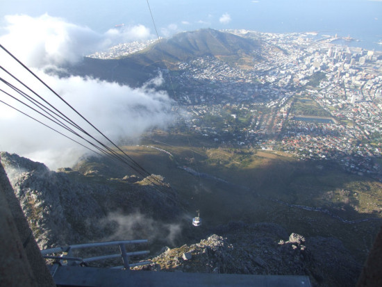 vacation capetown tablemountain