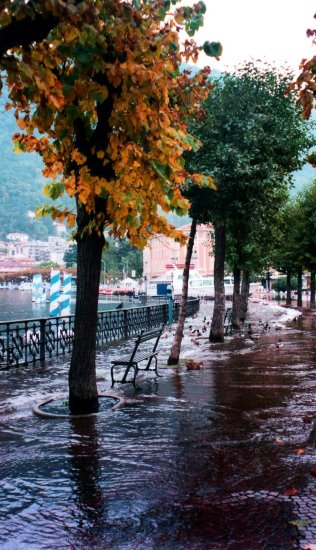 Floods in Como Italy