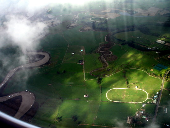 Another plane view .. I must work out where this river / estuary is, it seems intriguing with all...