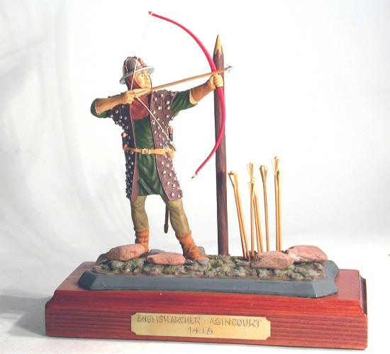 90mm Figure * English Archer * Agincourt 1415