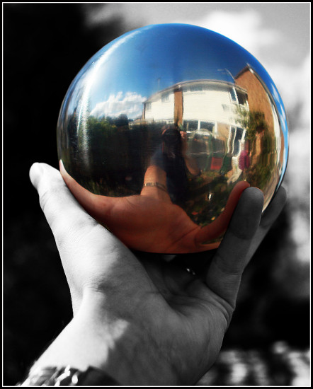 ball mirrors photoshop April 2009